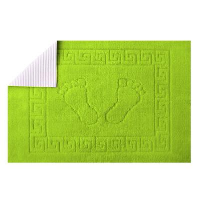 Koupelnová předložka Barefoot zelená, 50 x 70 cm
