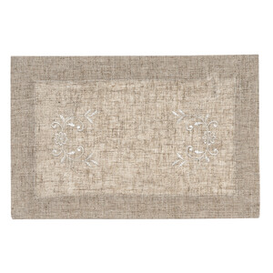 Vyšívaný ubrus Folk, 30 x 45 cm
