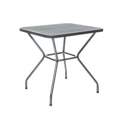 Happy Green Zahradní ocelový stůl Maine, 70 x 70 cm