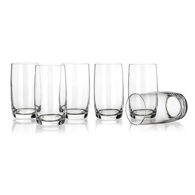 Banquet Crystal Sada sklenic long drink Leona  380 ml, 6 ks