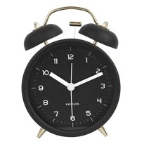 Karlsson 5659BK Ceas alarmă cu design