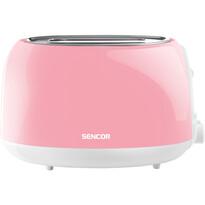 Prăjitor de pâine Sencor STS 34RD, roşu-roz
