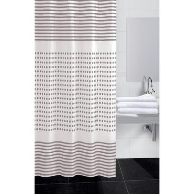 Perdea de duș  Darja bej, 180 x 180 cm