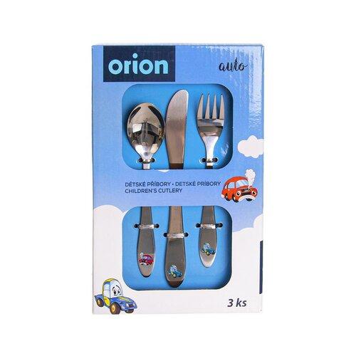 Orion Dětský příbor Auto, 3 ks