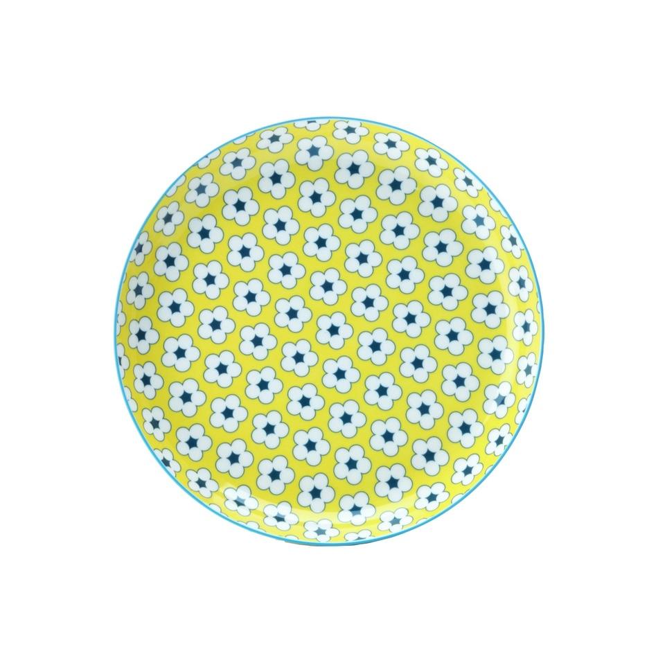 Maxwell & Williams talíř Cotton Bud, 23cm - Žlutý