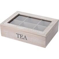 Pudełko na herbatę w torebkach Tea 24 x 16,5x 7 cm