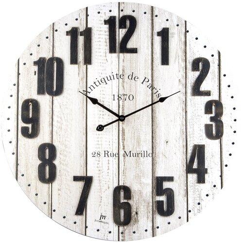 Lowell 21482 Designové nástěnné hodiny pr. 60 cm