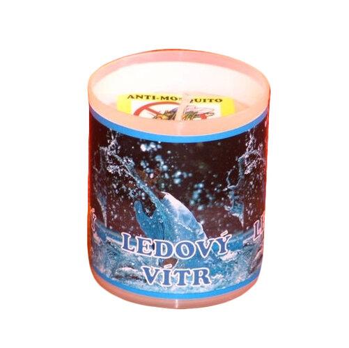 Repelentná sviečka s vôňou ľadový vietor