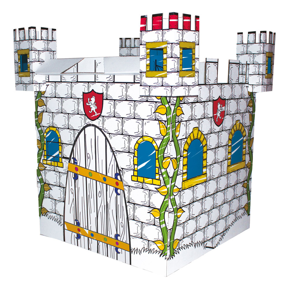 Bino Kartonový domek - hrad