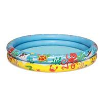 Set gonflabil Bestway - piscină, colac de înot  și minge, 3 buc.