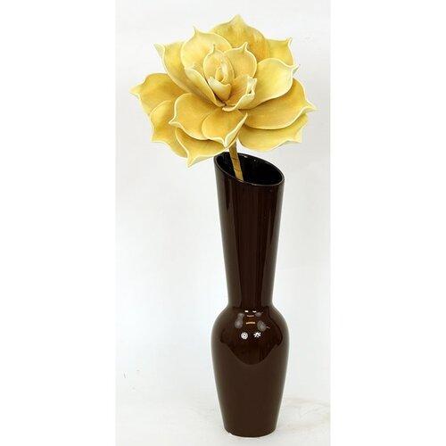 Keramická váza Bermea, hnedá