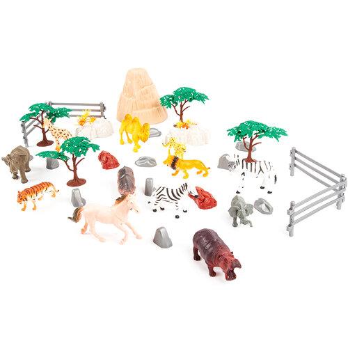 Dětský hrací set ZOO, 26 ks