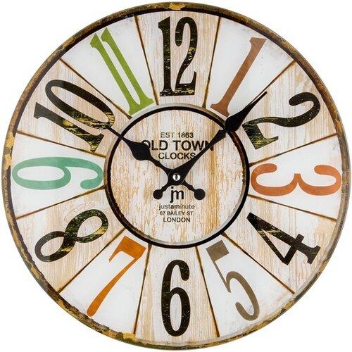 Lowell 14878 nástenné hodiny, pr. 34 cm