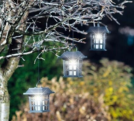 Solární lucerny, 3 kusy