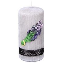 Lumânare parfumată Lawenda Provance, cilindru, 7 x 13 cm