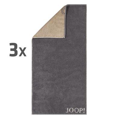 JOOP! ručníky Plaza Doubleface, 50 x 100 cm, 3 ks