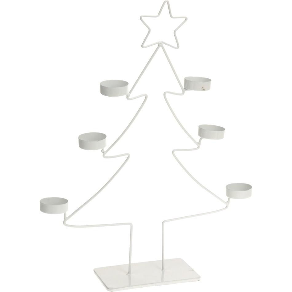Svícen vánoční strom,