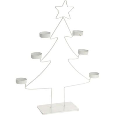 Svícen vánoční strom