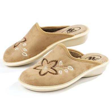 Santé LX Biege dámské pantofle