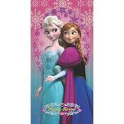 Dětská osuška Ledové království Frozen Family Forever, 75 x 150 cm