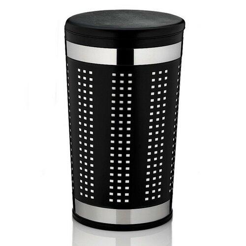 Coș de rufe Kela SEVILLA, negru imagine 2021 e4home.ro