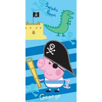 70d00abee TipTrade Osuška Peppa Pig - George pirát, 70 x 140 cm | 4home ...