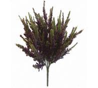 Umělá kytice vřesu, fialová