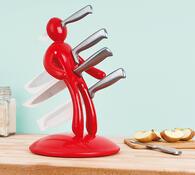 Harakiri stojánek na nože s noži