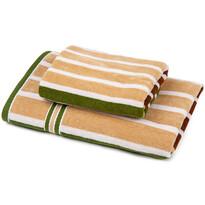 Sada Stripes Harmonized 1 ručník a osuška, 70 x 140 cm, 50 x 90 cm