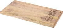 Koopman Drevená krájacia doštička Bread, 20 x 39,5 x 2,2 cm