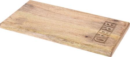Tocător Bread, din lemn, 20 x 39,5 x 2,2 cm