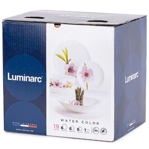 Luminarc 19-dielna jedálenská súprava WATER COLOR