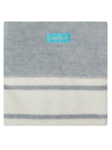 Womar deka proužek šedá