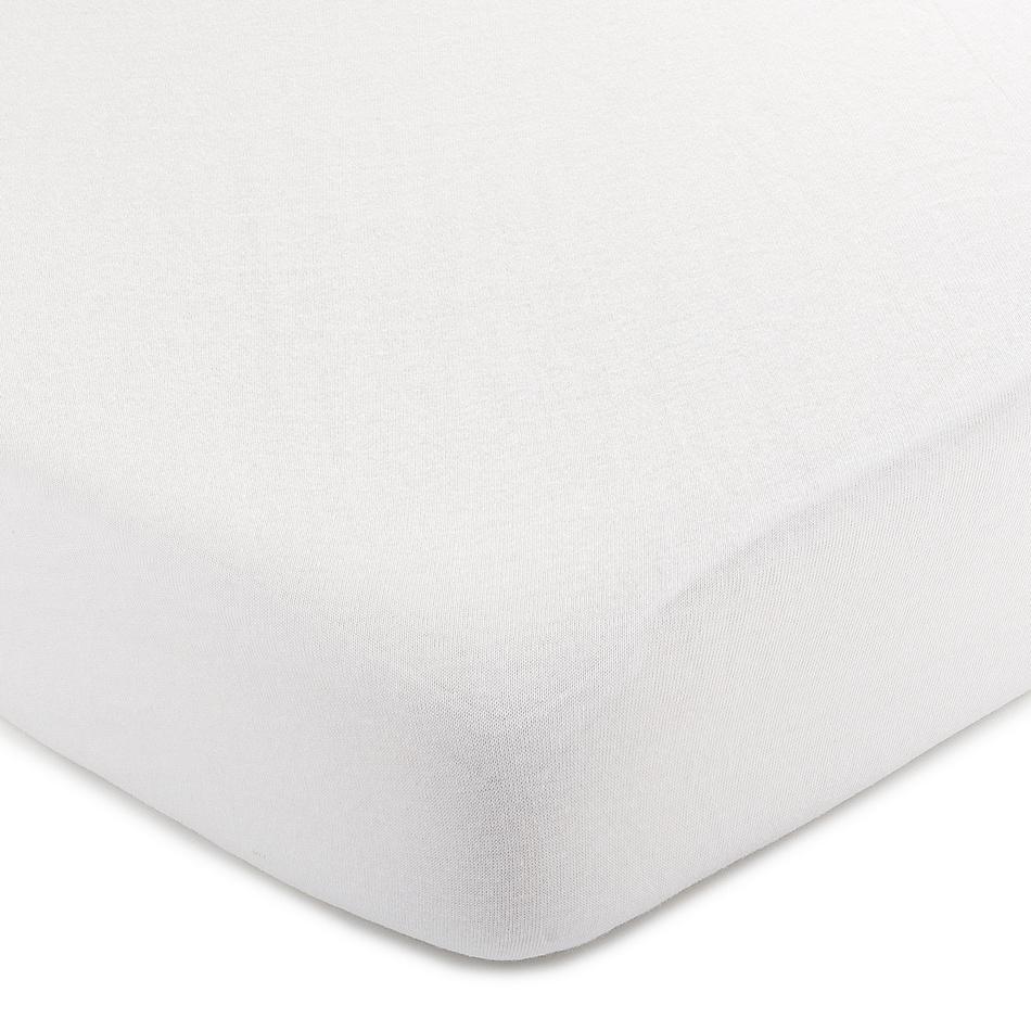 4Home jersey prestieradlo biela, 140 x 200 cm