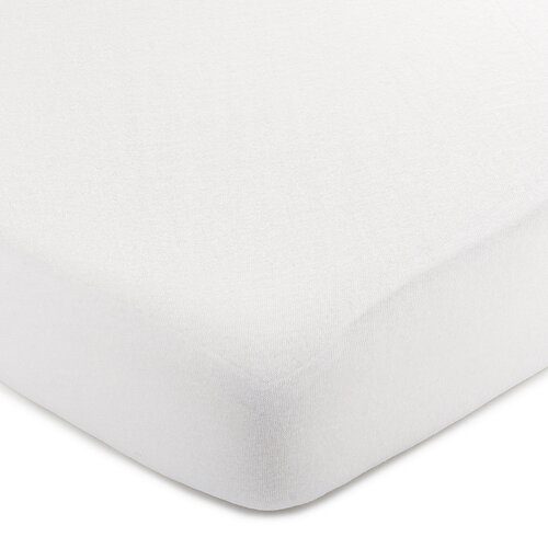 4Home jersey prostěradlo bílá, 90 x 200 cm