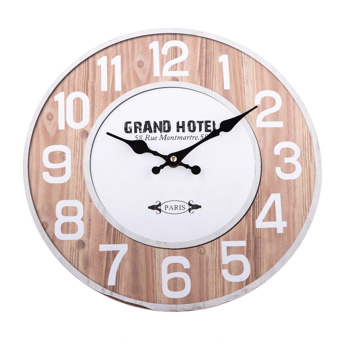 Nástěnné hodiny Grand Hotel natur, 34 cm