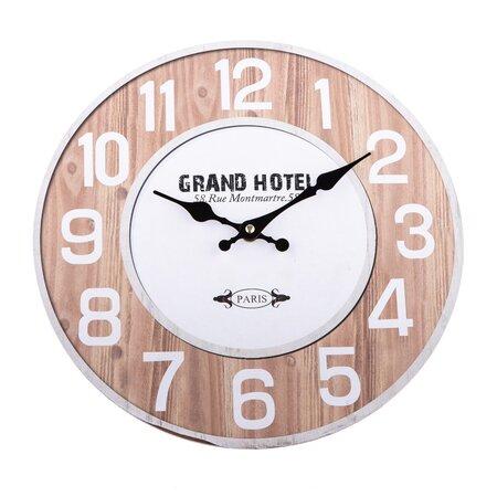 Grand Hotel falióra, natúr, 34 cm