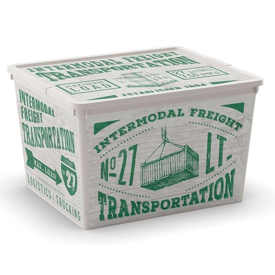 Úložný box KIS C-Box Wood Cube 27l