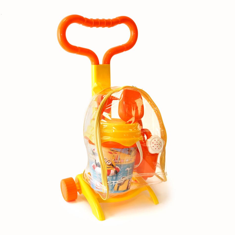 Plážový vozík Mimoni 7 dílů, 632180