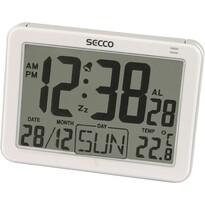SECCO S LD852-01 (571) Digitální budík, bílá