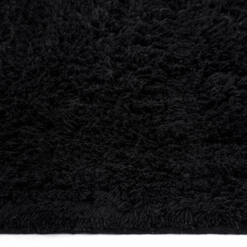 Covoraş de baie Julius, negru, set 2 buc. 70 x 50 cm, 50 x 40 cm