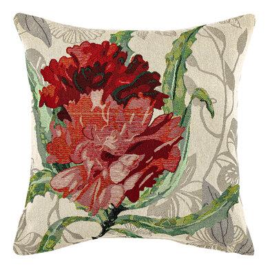 Husă de pernă Trandafir roșu, 45 x 45 cm