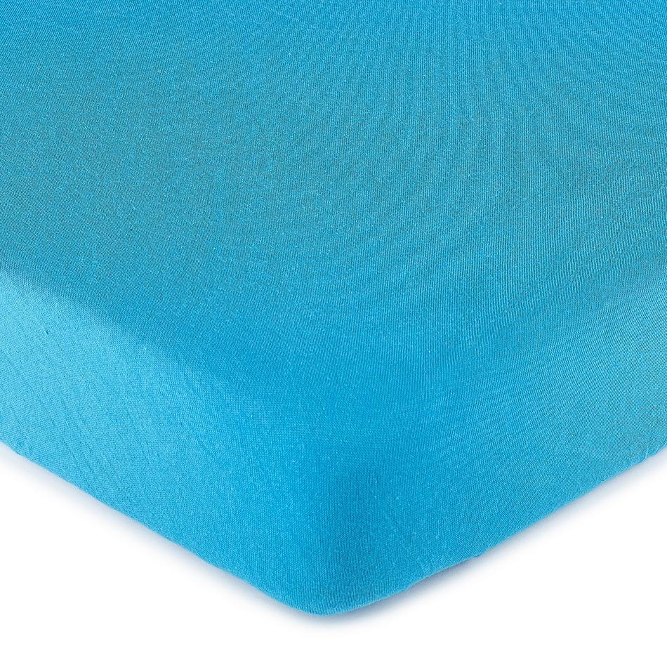 4Home jersey prestieradlo tmavo modrá, 160 x 200 cm