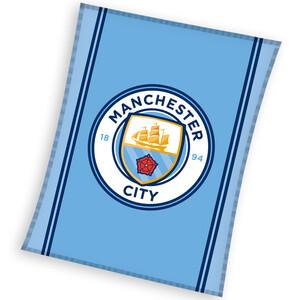 Carbotex dětská deka Manchester City 110x140