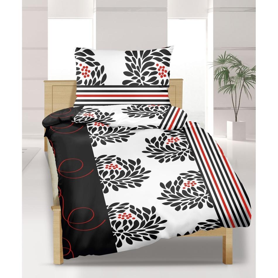 Bellatex Krepové obliečky Chryzantéma, 240 x 200 cm, 2 ks 70 x 90 cm
