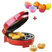 Muffinovač, MF-3030, Concept + DÁREK silikonové ko, červená