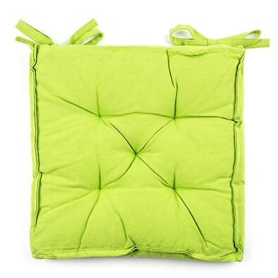Sedák Anne zelená, 39 x 39 cm