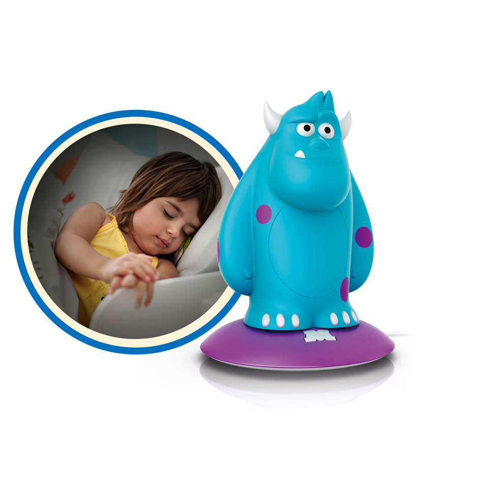 Philips Disney Lampa stolná Sulley