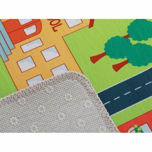 Ebel város gyerek szőnyeg, 100 x 150 cm