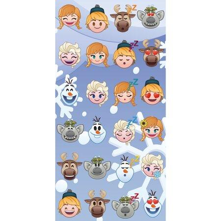 Prosop Emoji Regatul de gheață Frozen, 70 x 140 cm